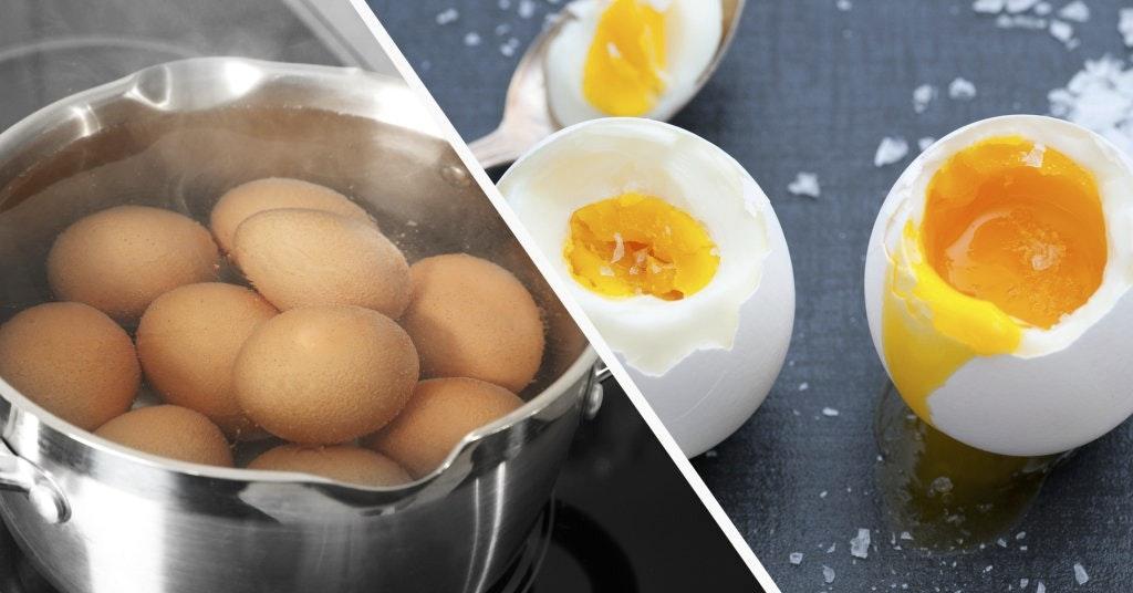 skala ägg snabbt