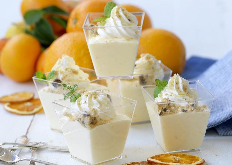 Apelsinfromage med crunch
