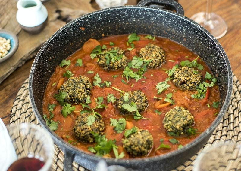recept med falafel