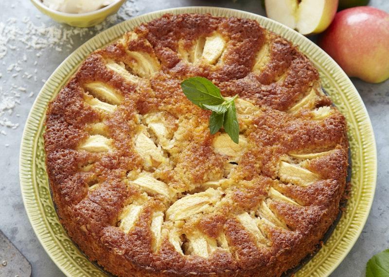 recept glutenfri äppelpaj