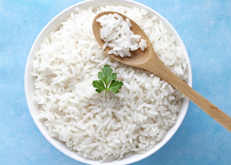 hur många gram ris per person
