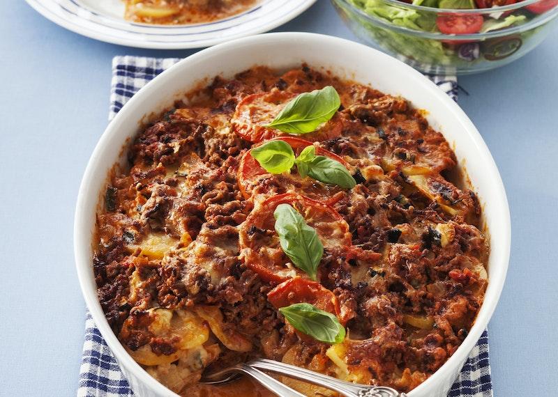recept på squash och köttfärs