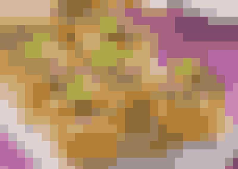 Krustader med tre fyllningar. Här är de fyllda med tacofärs.