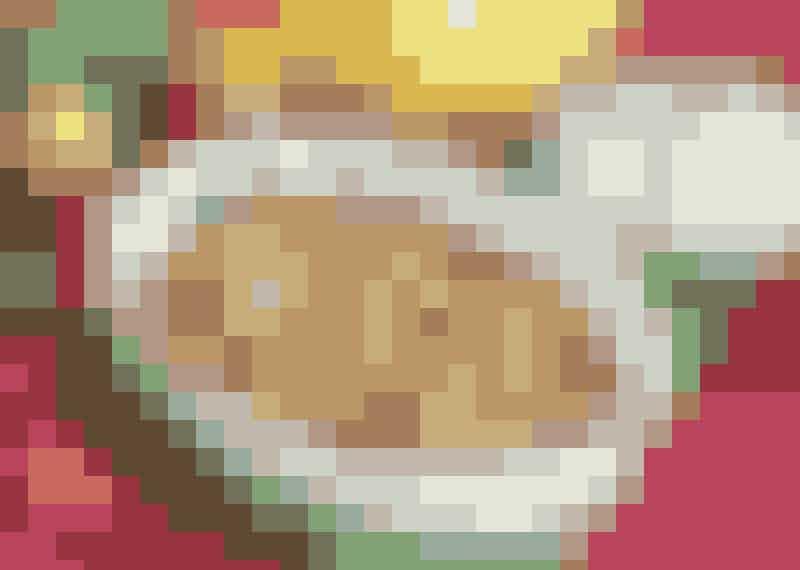 Kycklinggratäng med bacon.