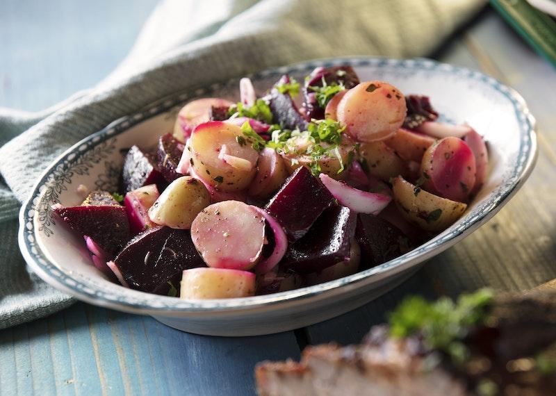 rödbetor vegetariskt recept