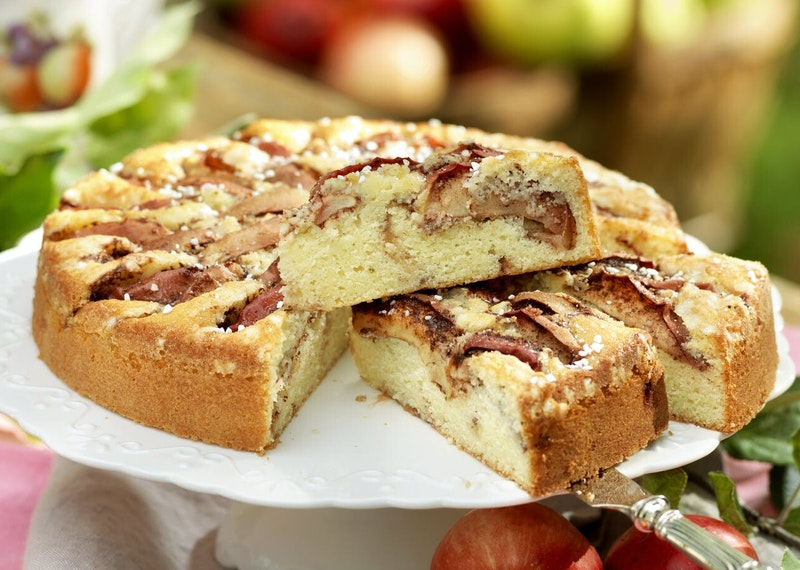 Saftig äppelkaka med kanel