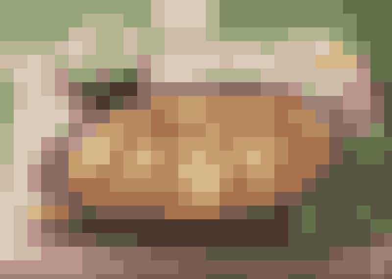 Smakrik falukorvsgratäng med senap och sambal