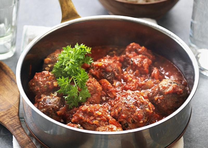 Spanska köttbullar i tomatsås